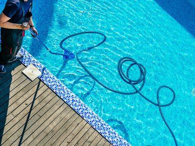 weekly pool maintenance mercer island
